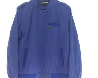 Vintage Members Only icon bomber jacket /large size