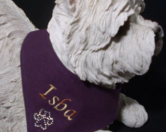 Scarf tie to be personalized for your dog