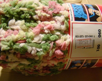 Adriafil Genio - multicolor mega chunky  scarf yarn suitable for arm knitting - made in Italy - SALE - only 12.99 USD instead of 18 USD