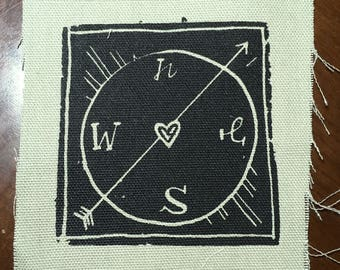 Heart Compass Patch