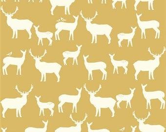Birch Elk Fam Sun-Mod Basics 2-by Birch Organic fabrics-ONE yard