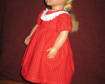 18 Inch Doll Dresses: Little Girl Styles in Multi-colors (5 Options)