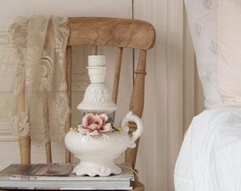 Vintage Porcelain Lamp Base