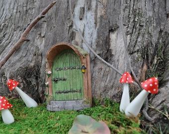 Mystical Green Fairy Door