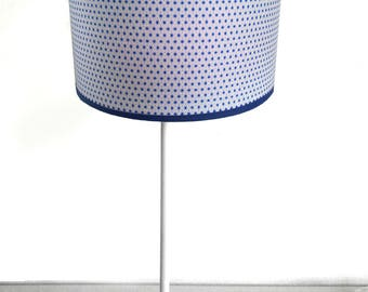 SMALL LAMPSHADE PATTERN JAPANESE BLUE STARS