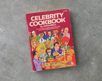 Celebrity Cookbook | Vintage Cookbook | 1981