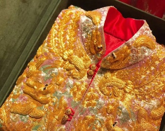 Chinese Traditional Wedding Dress 褂皇 - WD 10706