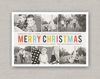 Christmas Collage Photo Card