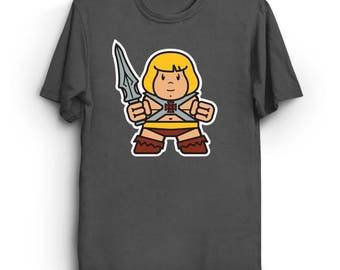 Mitesized He-Boy - Cute T-Shirt | Kawaii Shirt | MOTU T-Shirt