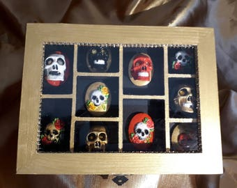 Book of the Dead hand painted cameo collection
