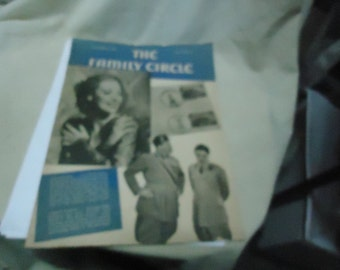 Vintage November 22, 1940 The Family Circle Magazine, Volume 17 Number 21, collectable