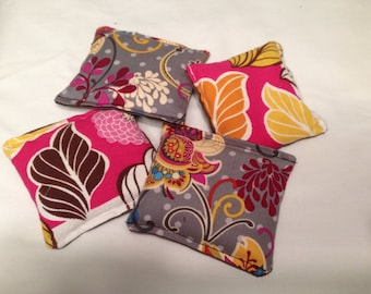 Flowers and Fall Leaves Pocket/Hand Warmers OR Reusable Cold Packs