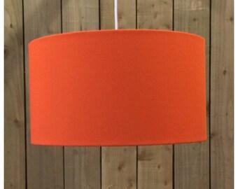 Bright Orange Drum Lampshade Lightshade Ceiling Pendant 20cm 25cm 30cm 35cm 40cm 45cm 50cm 55cm 60cm