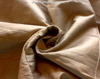 Ecru Tan Dupioni Art Silk Fabric By The Yard, Light Brown Indian Silk Fabric, Indian Fabric, Curtain Fabric, Dressmaking Silk Dupioni Fabric