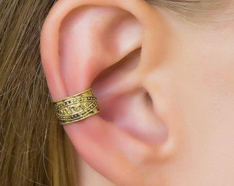 Tribal Ear Cuff. boho earrings. ear cuffs earring. cartilage cuff. non pierced. earcuffs. bohemian jewelry. ear cuffs no piercing. ear wrap.
