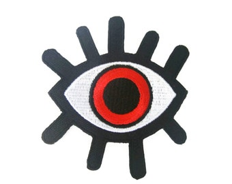 Eye Patch Eye Iron on Patch  Applique Iron on Patch