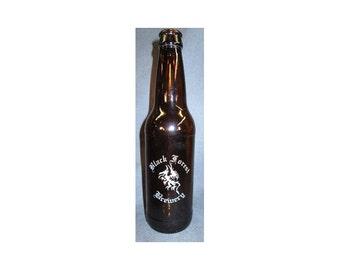 Engraved Beer Bottle - Personalized Beer Bottle-Engraved Gift-Home Brewer Gift-Engraved Beer Bottle with logo
