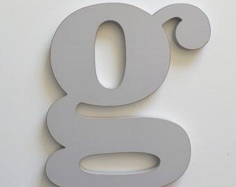 Letter G - 24 Inch Letter - Large Wooden Letter