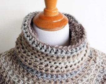 Crochet Poncho Pattern, Chunky Poncho, Easy Crochet Pattern, Winter Wool Poncho, Breastfeeding Poncho