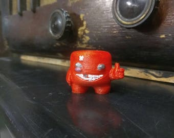 Super Meat Boy figurine 3D printed