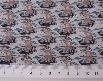 LIBERTY KIDS® fabric print Samols beige 3290A / 10 cm