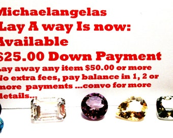 Michaelangelas Lay - A - Way Plan  1 - 2 - 3 or more payment plan no added fees