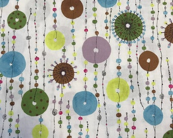 JEWEL MOBILE, Alexander Henry, 100% Cotton Quilting Fabric Apparel, Fabric by the Yard
