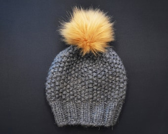 BH Hobnail Knit Hat in Luxe Alpaca