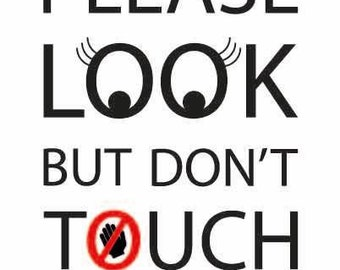Information Dual Purpose Board -  Do Not Touch