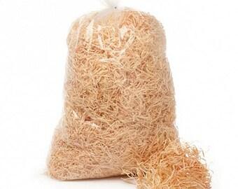 Shredded Wood Wool Hamper Basket Stuffing Packing material 1 KG bag
