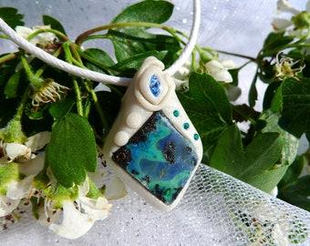"Boulder Opal from Australia ""Wedding"" Collection, Crystal healing, reiki, meditation"