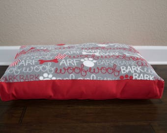 """Ready to Ship - 30"""" Personalized Pet Bed"""