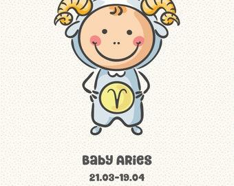 Baby Zodiac Aries