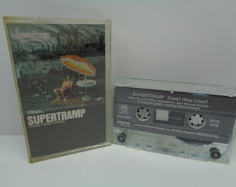 Supertramp Crisis What Crisis Cassette