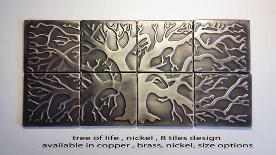 Tree Of Life Backsplash Kitchen Backsplash 8 Tiles Design