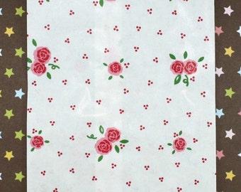 Red Rose Paper Bags