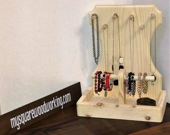 Jewelry organizer and ladies valet - unfinished