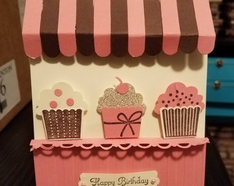Cupcake Stand Card