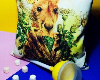 Cushion Cover - The Kangaroo