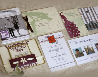 Wedding Invitation Samples and more