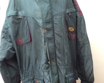 Vintage 90s RUCANOR Coat Retro Wavey Festival Ski | XL