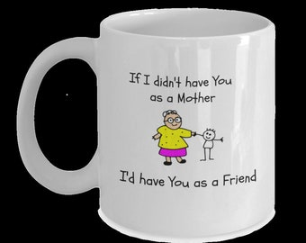 Mothers day gift Coffee Mug featuring Mother and Daughter Love