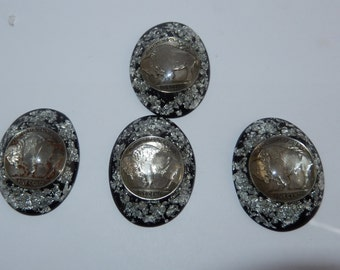 Orgone with Silver and Buffalo Nickel
