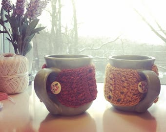 Coffee Mug Cozies (Mugs included!)