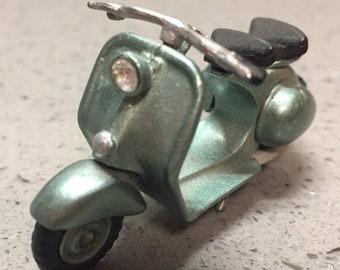 Vintage Diecast Toy Vespa Scooter