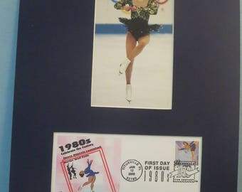 Kristi Yamaguchi - 1992 Olympic Gold Medal Figure Skating Winner & First Day Cover