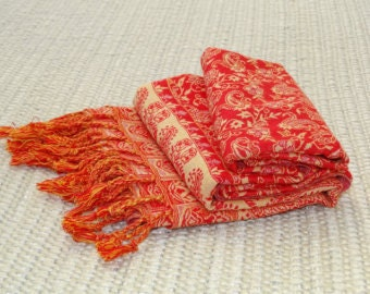Jamawar Reversible Stole, variety of colours, great accessory,