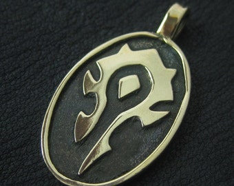 The Horde pendant (bronze)