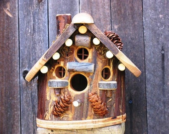 Rustic Cedar Bird House