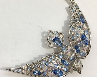 Nolan Miller Bluebird Brooch
